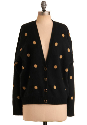Vintage Spot of Gold Cardigan