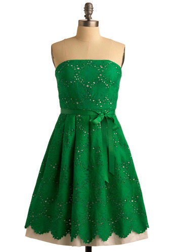 You're So Clover Dress - Short