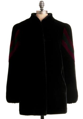 Vintage Rays of Night Coat