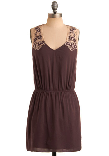 Your Floral Majesty Dress - Purple, Tan / Cream, Floral, Casual, Sheath / Shift, Racerback, Spring, Summer, Short