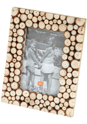 Knots of Love Picture Frame by Present Time - Brown, Dorm Decor, Handmade & DIY, Rustic, Graduation
