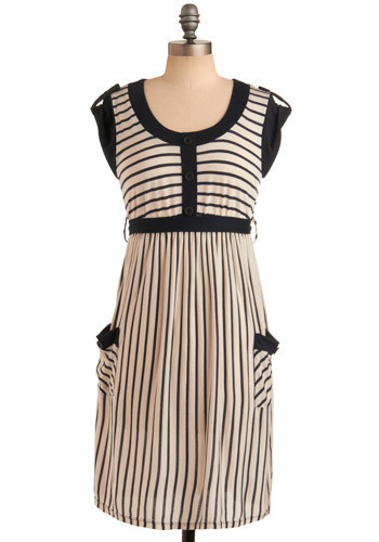 Beach-bound Beauty Dress - Mid-length