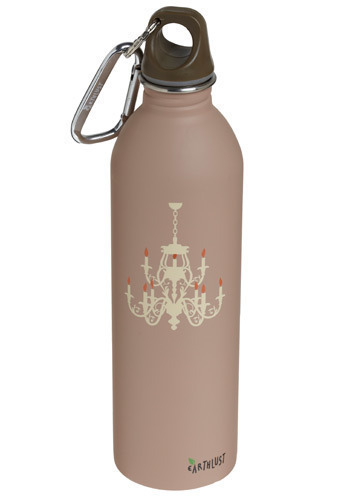 Fancy and Fresh Water Bottle - Pink, Dorm Decor
