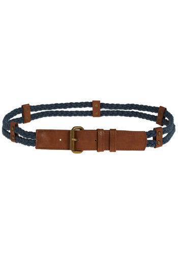 Blue Braid Muse Belt by Gentle Fawn
