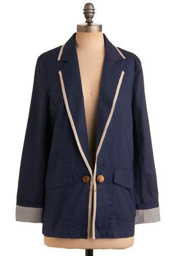 Poets Society Blazer | Mod Retro Vintage Jackets | ModCloth.com