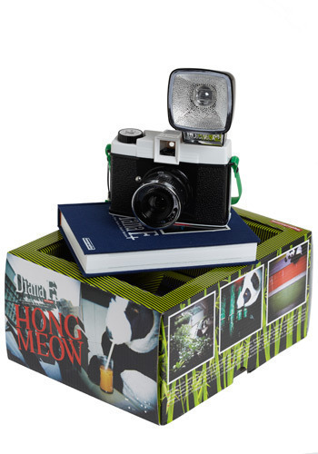 Diana F+ Clone in Panda - Black, White