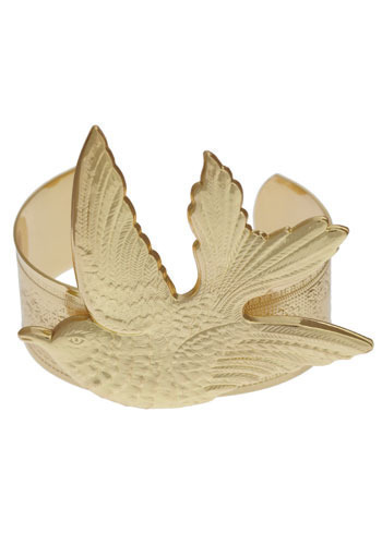The Wing's the Thing Cuff - Gold, Casual, Boho, Statement