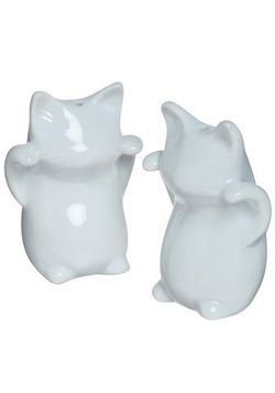 Twin Tabbies Shaker Set