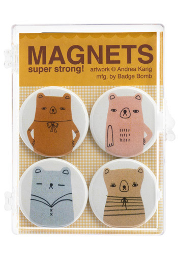 Bear-y Your Sadness Magnet Set