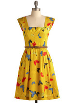 Enchanting Entomologist Dress