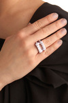 New-fang-led Ring - White