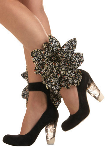 Spring in your Step Heel by Irregular Choice