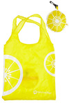 Grovestand on the Go Tote in Lemon - Yellow, White, Novelty Print, Casual