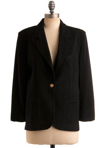 Vintage All the Answers Blazer