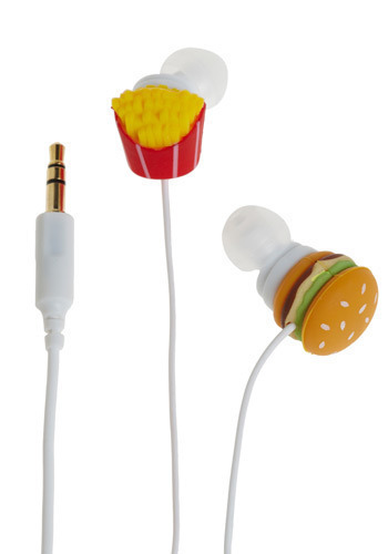 Bring Your Own Shake Earbuds - Multi, Red, Yellow, Green, Brown, White, Casual