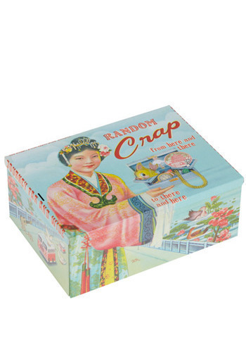 What's The Kitsch? Keepsake Box - Multi, Dorm Decor