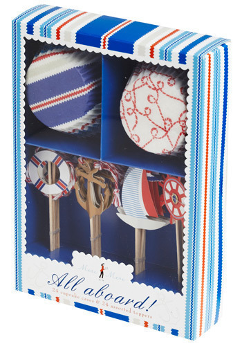 Bake Sail Cupcake Kit - Multi, Handmade & DIY