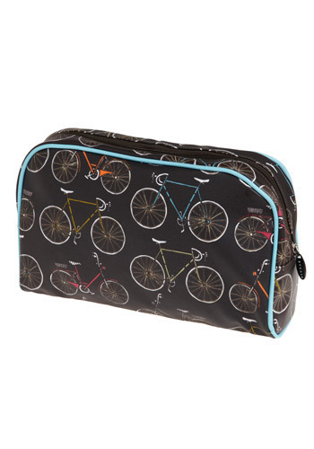 Spoke to You Lately Travel Case - Black, Multi, Novelty Print, Casual