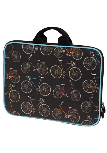 Spoke to You Lately Laptop Case - Orange, Green, Blue, Pink, Grey, White, Novelty Print, Work, Casual, Travel, Brown