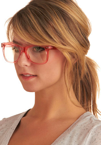 Eye Want Candy Glasses - Pink, Work, Casual, Spring, Summer