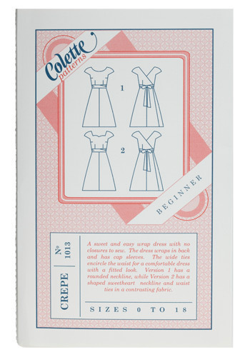 Seize the Dress Sewing Pattern in Wrap Star - Handmade & DIY