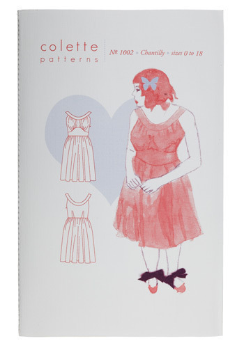 Seize the Dress Sewing Pattern in Chantilly - Multi, Party, Casual, Vintage Inspired, Empire, Tank top (2 thick straps)