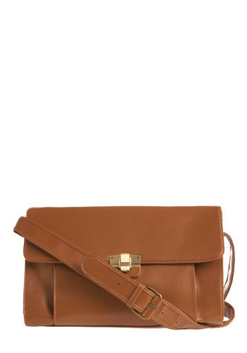 Fashion Strategy Satchel - Tan, Solid, Casual, Boho, Urban, Spring, Summer, Fall
