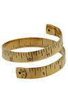Made to Measure Bracelet by Monserat De Lucca - Gold, Casual, Statement, Scholastic/Collegiate, Solid, Gold