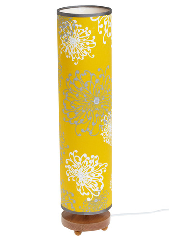 The Light Stuff Lamp - Yellow, Brown, Grey, White, Floral, Dorm Decor