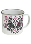 That's Owl Folks Mug - White, Pink, Black, Dorm Decor, Owls