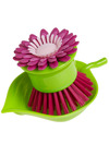 Pretty Perennial Scrub Brush - Pink