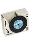 One Turntable Tape Dispenser - White, Multi, Dorm Decor