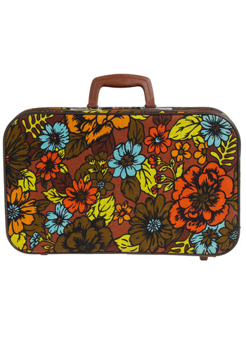Vintage Magical History Tour Suitcase