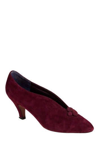 Vintage Cranberry Saucy Heel