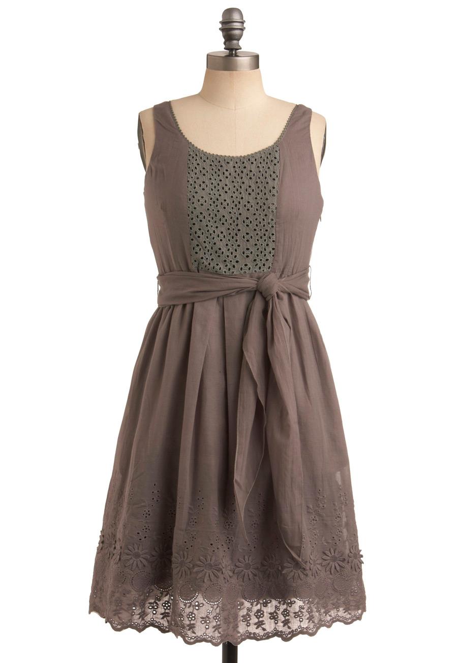 Grey Tank Dress image