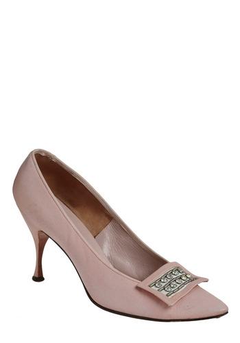 Vintage Blushing Pair Heel