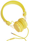 Thoroughly Modern Musician Headphones in Canary - Yellow