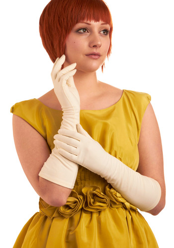 Vintage Opera Length Opulence Gloves | Mod Retro Vintage Vintage Clothes | ModCloth.com :  one of a kind gloves vintage ivory
