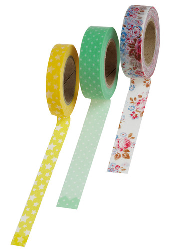 Refined Around the Edges Tape Set by Chronicle Books - Multi, Handmade & DIY