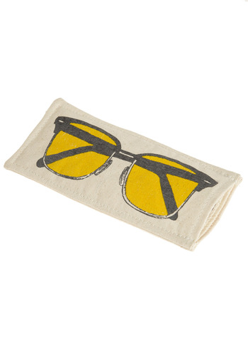 Made for the Shades Case - Cream, Yellow, Grey, Novelty Print, Casual, Spring, Summer