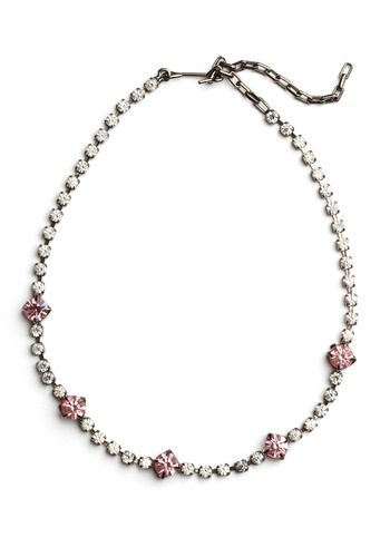 Vintage Raspberry Garnish Necklace