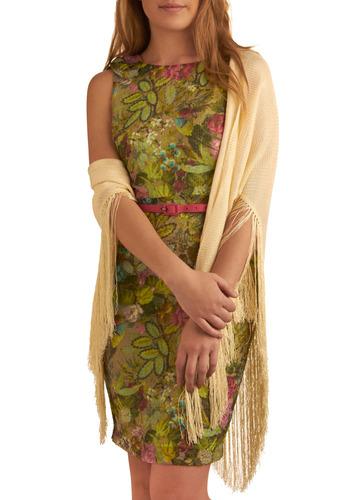 Vintage Am Ivory Cold Shawl Mod Retro Vintage Vintage Clothes ModCloth com from modcloth.com