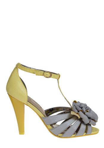 Peek of Sunshine Heel | Mod Retro Vintage Heels | ModCloth.com