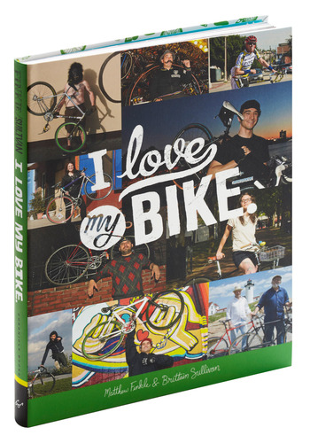 I Love My Bike by Chronicle Books - Yellow, Black, Grey