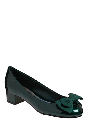 Clover the Rainbow Heel in Emerald - Green, Solid, Bows, Special Occasion, Wedding, Party, Casual