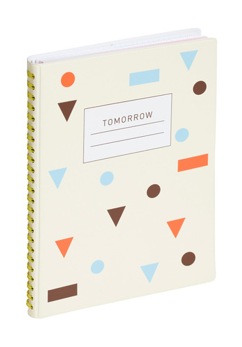 Waiting for Tomorrow Day Planner by Poketo - White, Multi