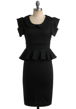 Work with Me Dress in Black