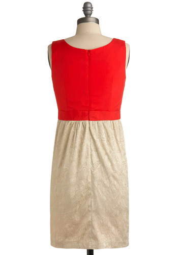 Eat, Drink, Be Merry Dress | Mod Retro Vintage Solid Dresses | ModCloth.com