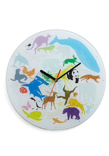 World Evolves Around You Clock - Multi, Dorm Decor