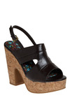 Fabulous Fudge Heel - Brown, Solid, Casual, Spring, Summer
